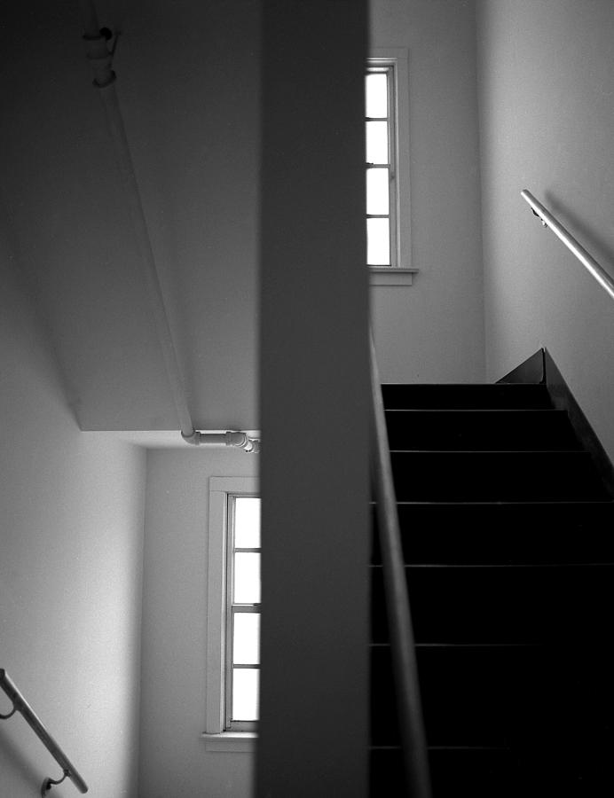 Scenic Photograph - Staircase View by Matthew Altenbach