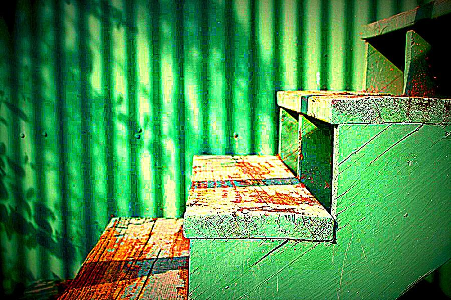 Old Photograph - Stairs by Jill Tennison