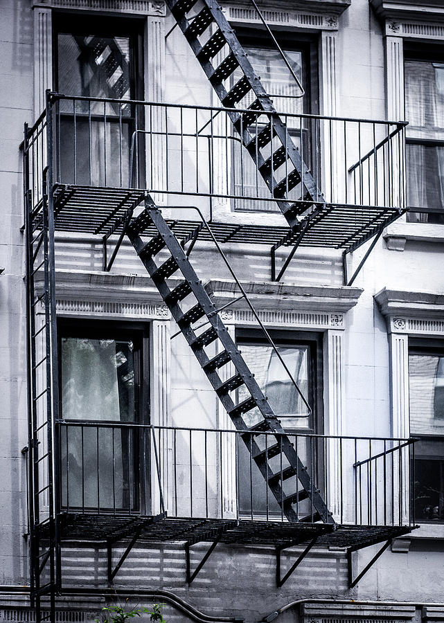 Great City Photograph   Stairs, Nyc By Robert Alsop