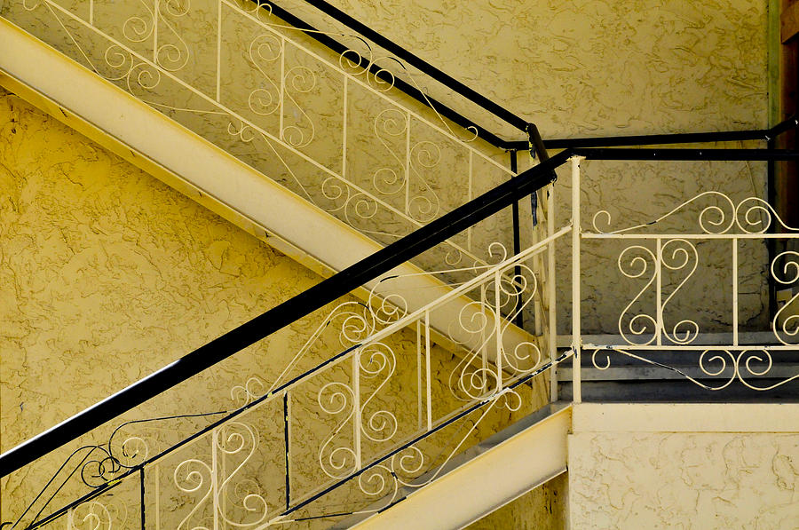 Landscape Photograph - Stairs by Peter Sutter