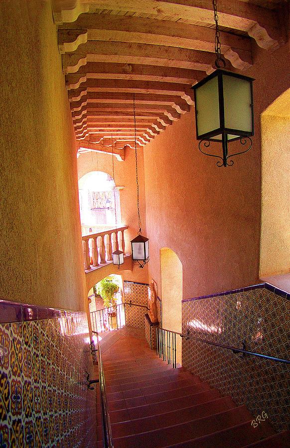 Architecture Photograph - Stairway by Ben and Raisa Gertsberg