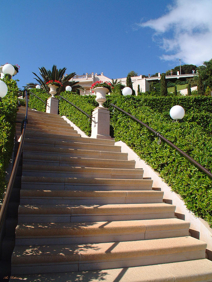 Stairway Photograph - Stairway To Heaven by Arik Baltinester