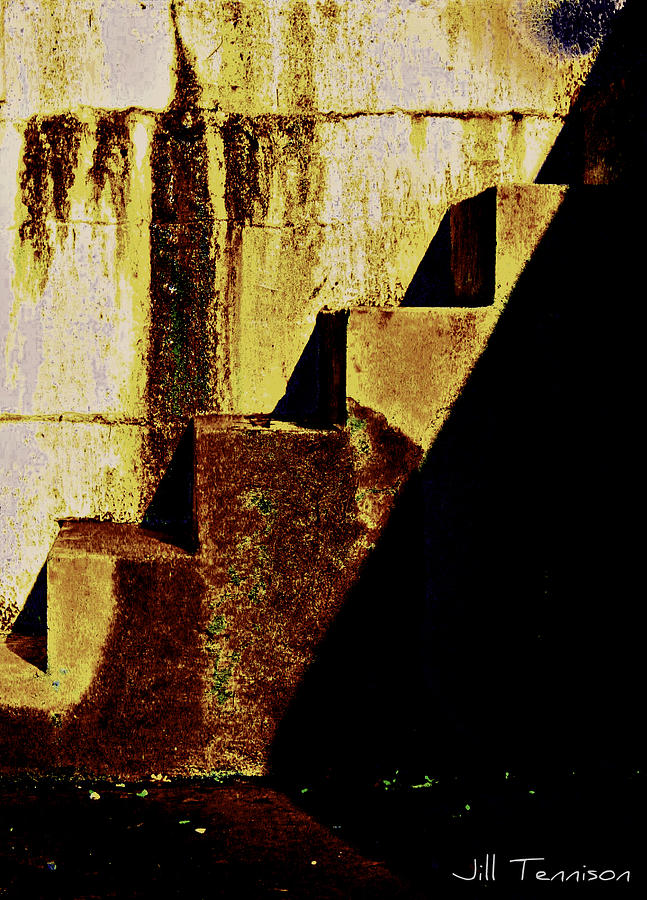 Patina Photograph - Stairway To Heaven by Jill Tennison