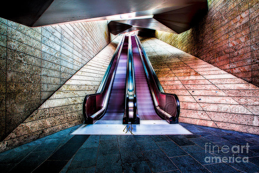 Stairway Photograph - Stairway To The Universe by Pete Reynolds