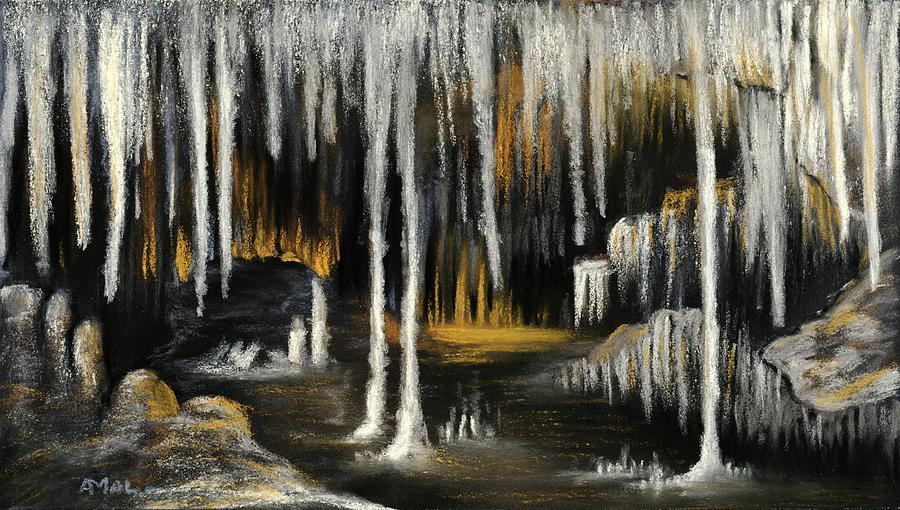 Stalactite Cave by Anastasiya Malakhova