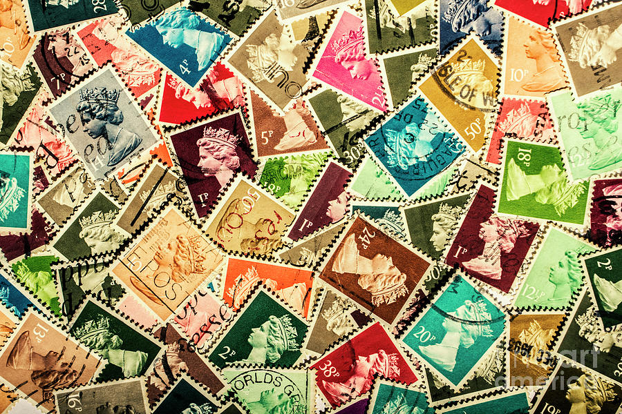 Stamp Photograph - Stamping The Royal Mail by Jorgo Photography - Wall Art Gallery
