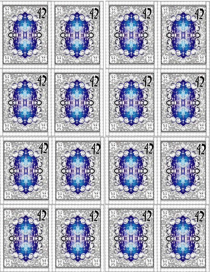 Stamps Digital Art by George Pasini