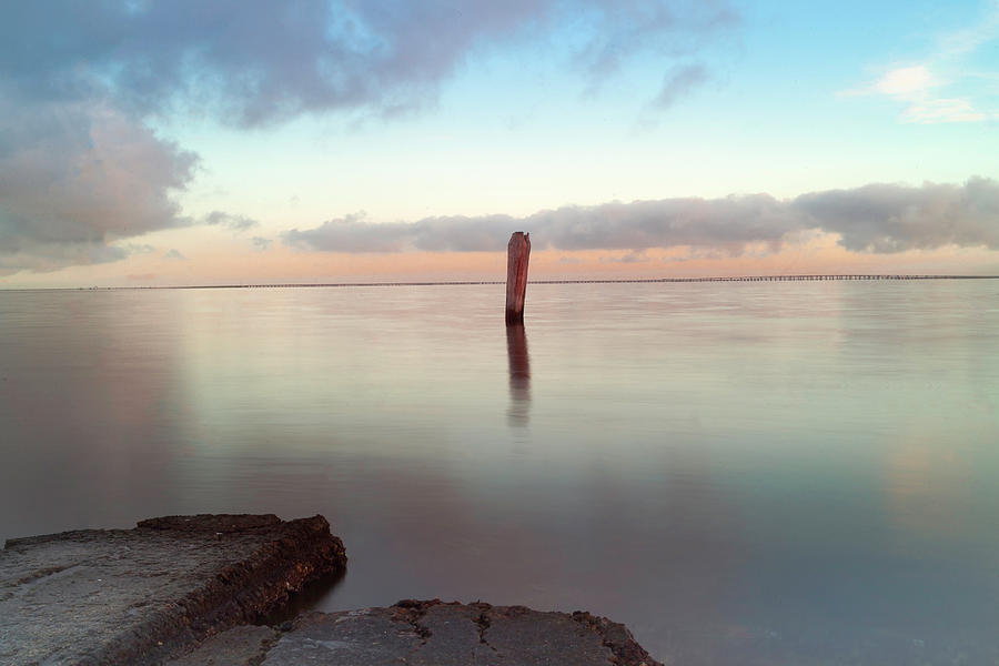 Gandy Beach Photograph - Stand Alone by Todd Rogers