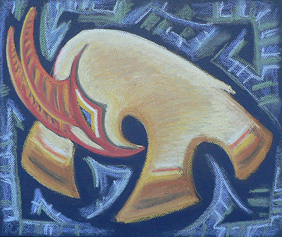 Painting Painting - Stand by Denitsa Mihaylova