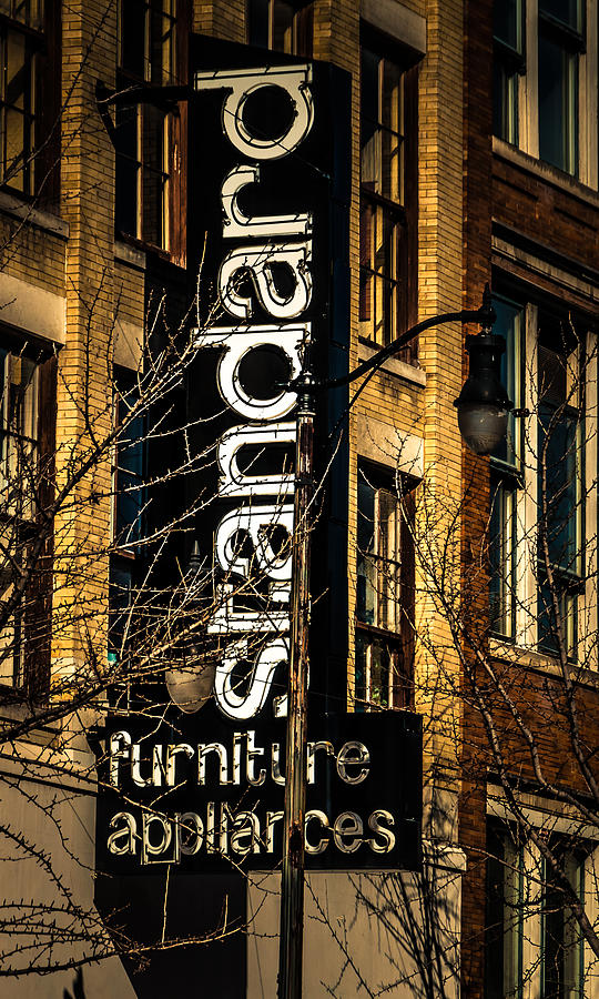 Neon Sign Photograph - Standard by Phillip Burrow