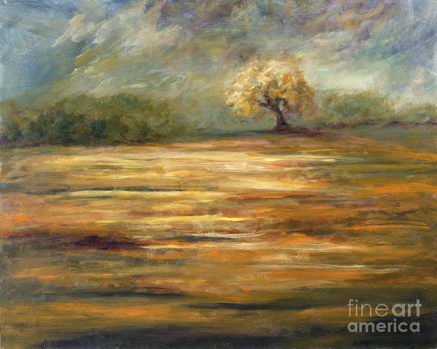 Standing Alone Painting - Standing Alone by Addie Hocynec