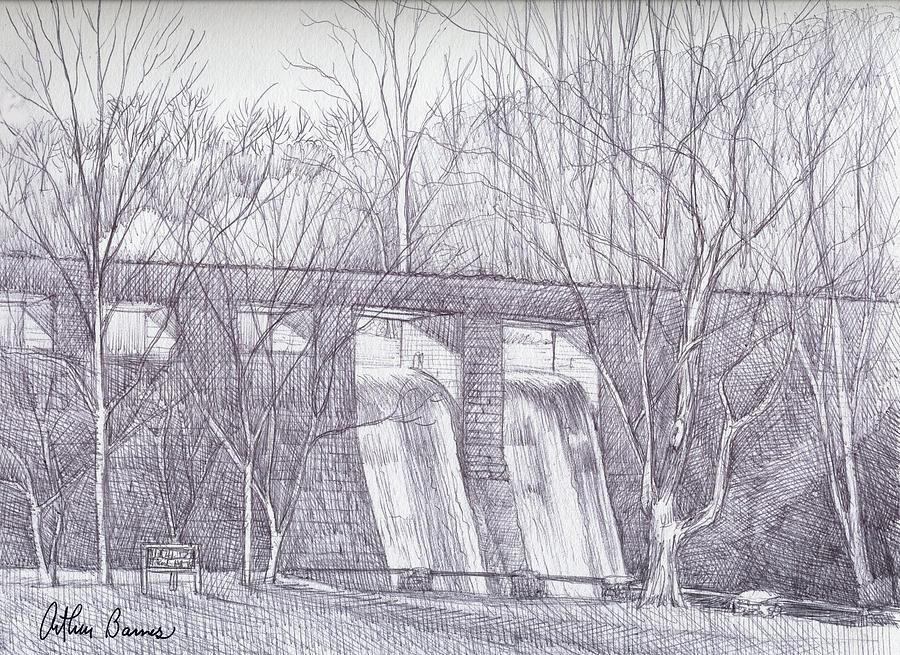 Standing Rock Dam Drawing