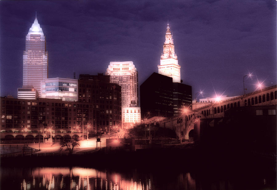Cleveland Photograph - Standing Tall by Kenneth Krolikowski