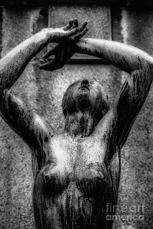 Standing Woman Photograph