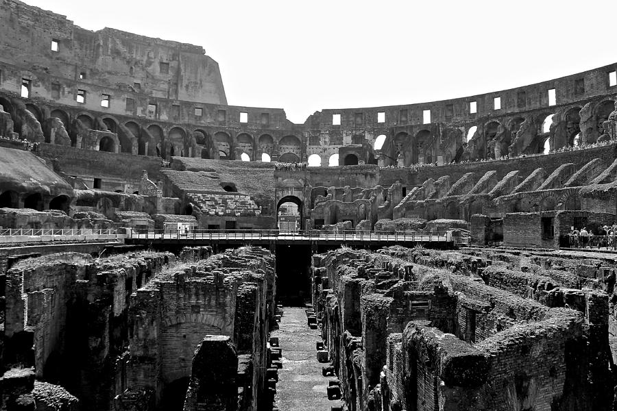 Rome Photograph - Stands The Test Of Time by Liz DiMenno