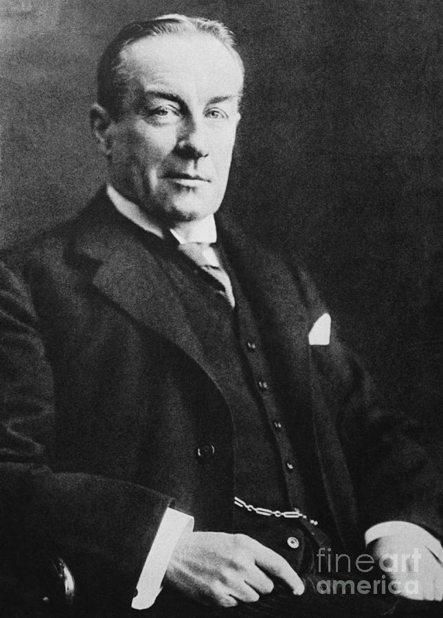 History Photograph - Stanley Baldwin, English Politician by Photo Researchers