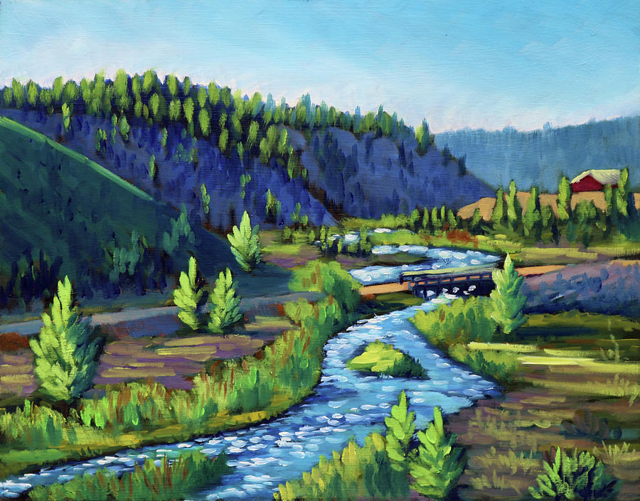 Stanley Creek by Kevin Hughes