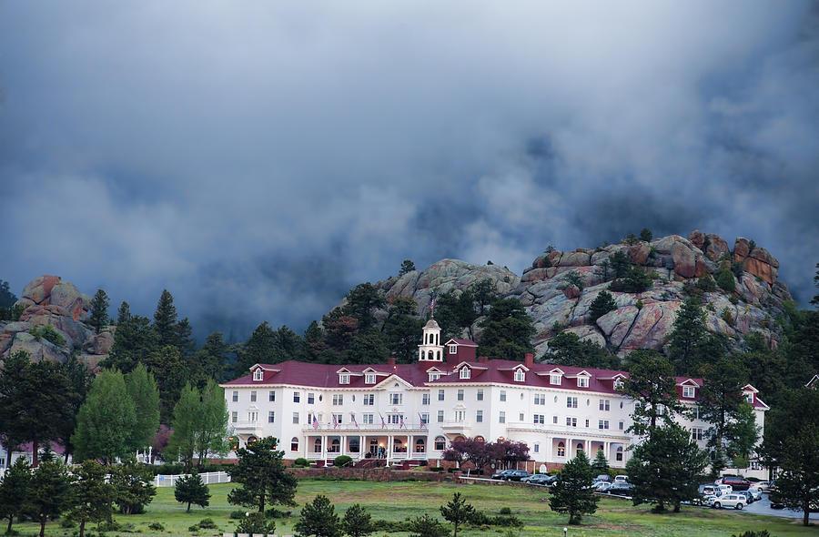 Colorado Photograph - Stanley Hotel At Estes Park by Gregory Scott