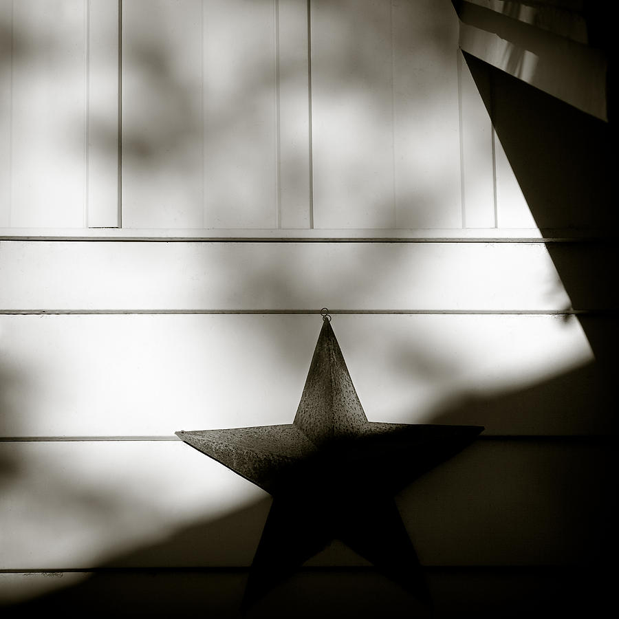 Star Photograph - Star And Stripes by Dave Bowman