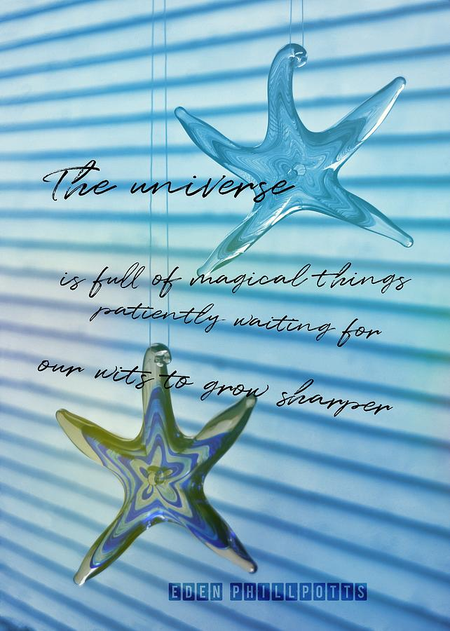 Star Photograph - Star Bright Quote by JAMART Photography