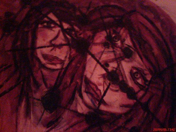 Graffiti Photograph - Star Crossed Lovers by Melissa Klatsia