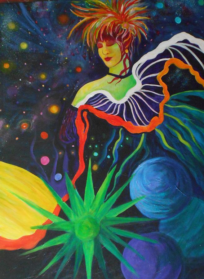 Dancer Painting - Star Dancer by Carolyn LeGrand