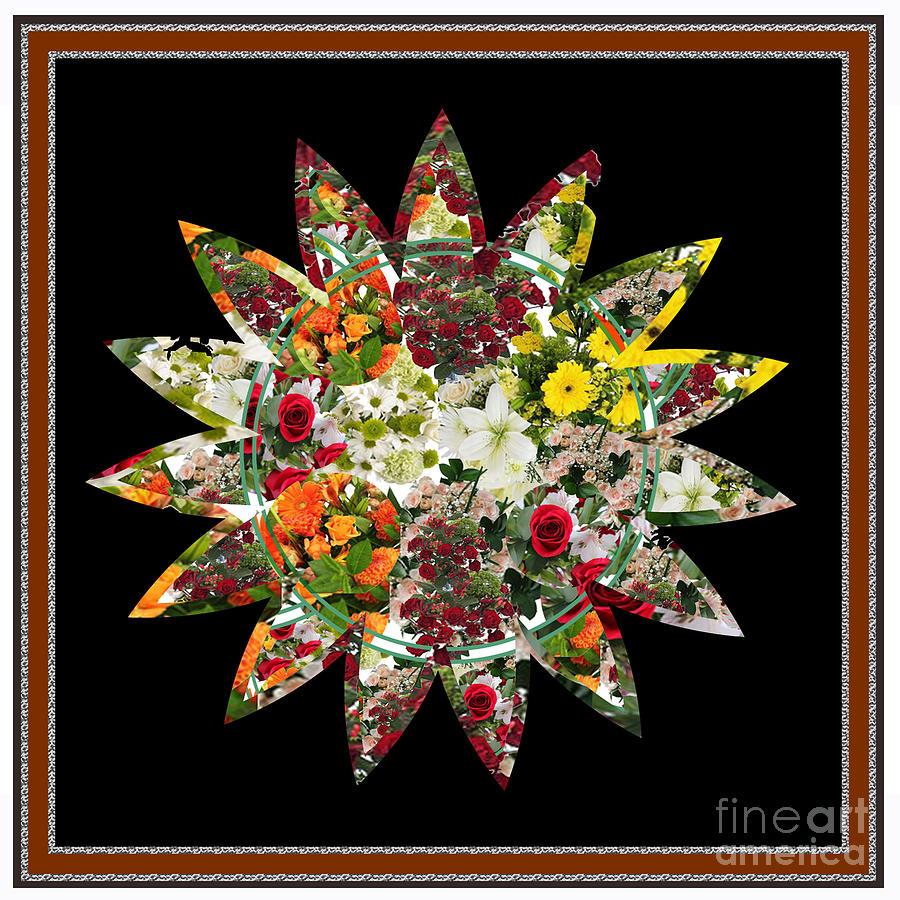 Flower Digital Art - Star Flower Bouquet Creation By Navinjoshi At Fineartamerica.om Graphics Art   Elegant Interior Deco by Navin Joshi