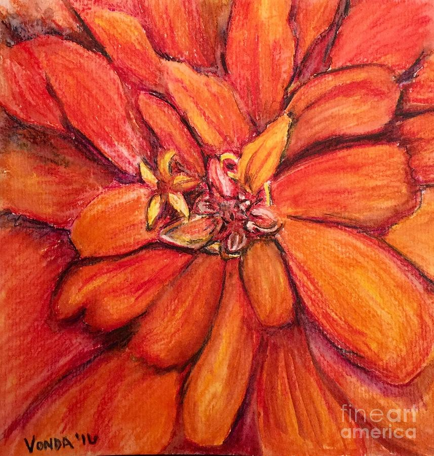 Star Flower by Vonda Lawson-Rosa
