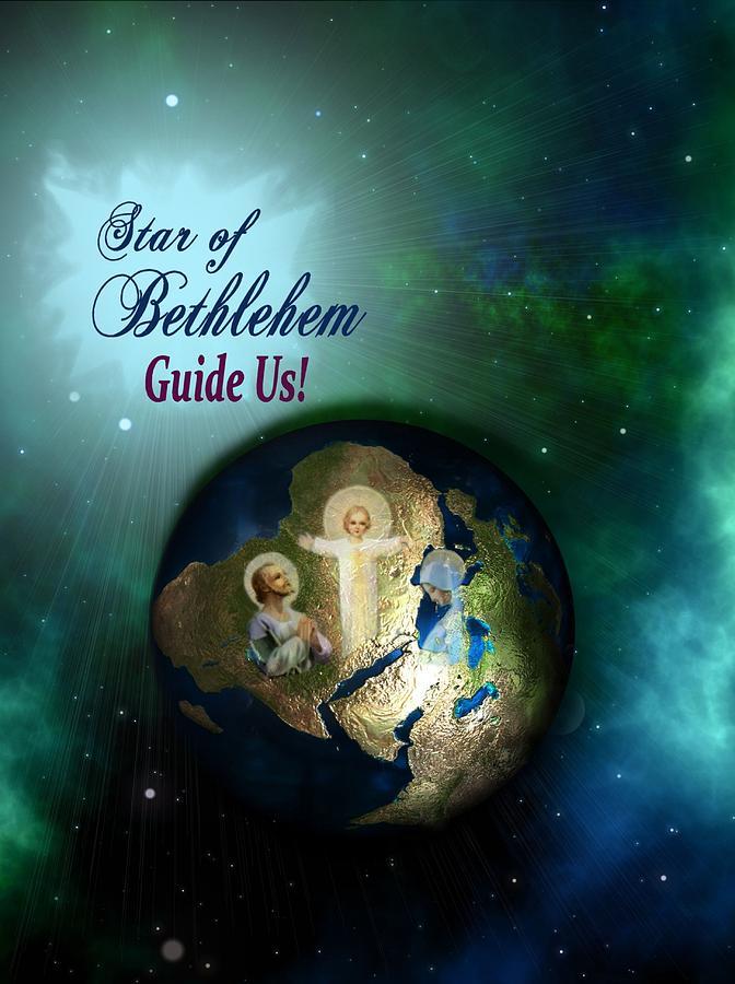 Christmas Photograph - Star Of Bethlehem by Myrna Migala