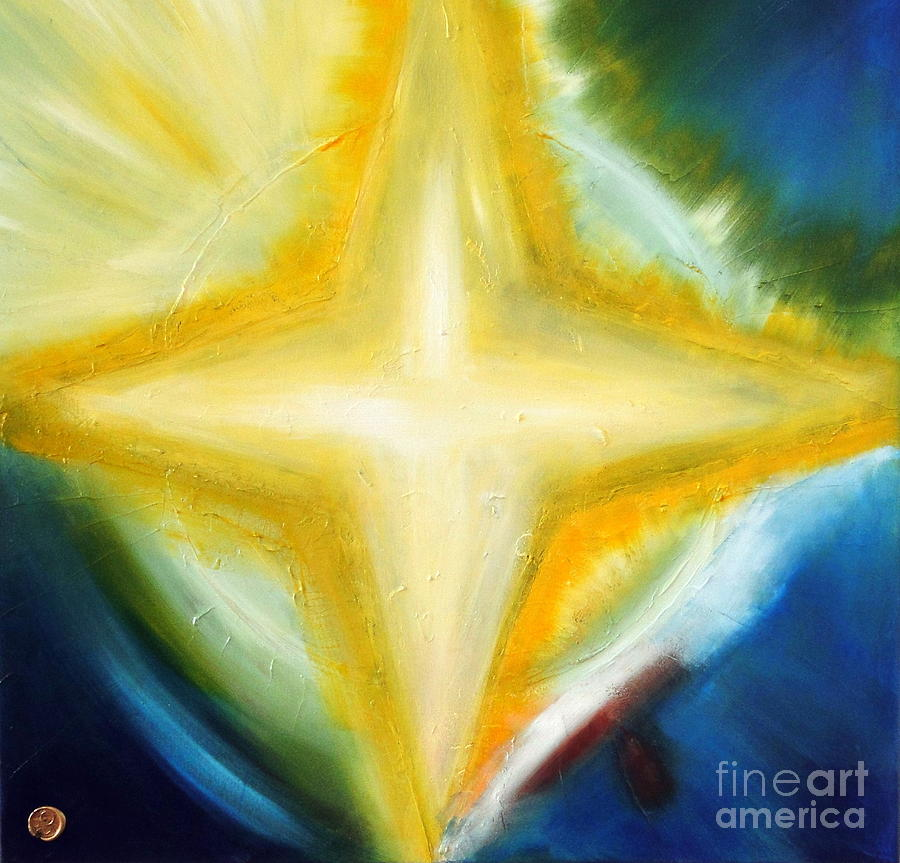 Star Painting - Star by Ron Labryzz