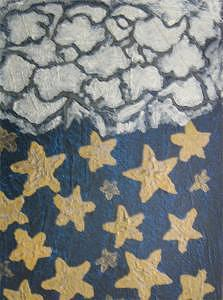 Stars Painting - Star Shower by Diane Oliver