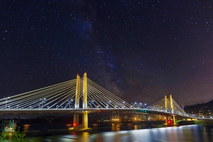 Tilikum Crossing Photograph - Star Trek Bridge by David Gn