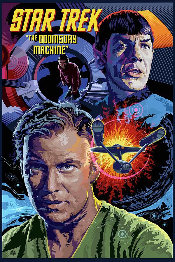 Star Trek Doomsday Machine Digital Art