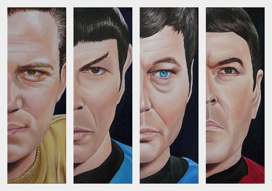Star Trek Set One by Vic Ritchey