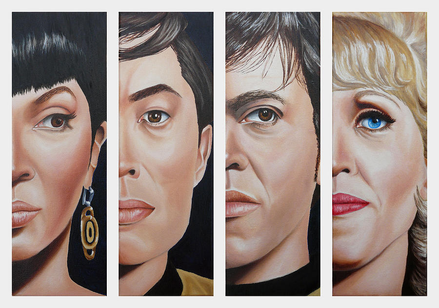 Star Trek Set Two by Vic Ritchey