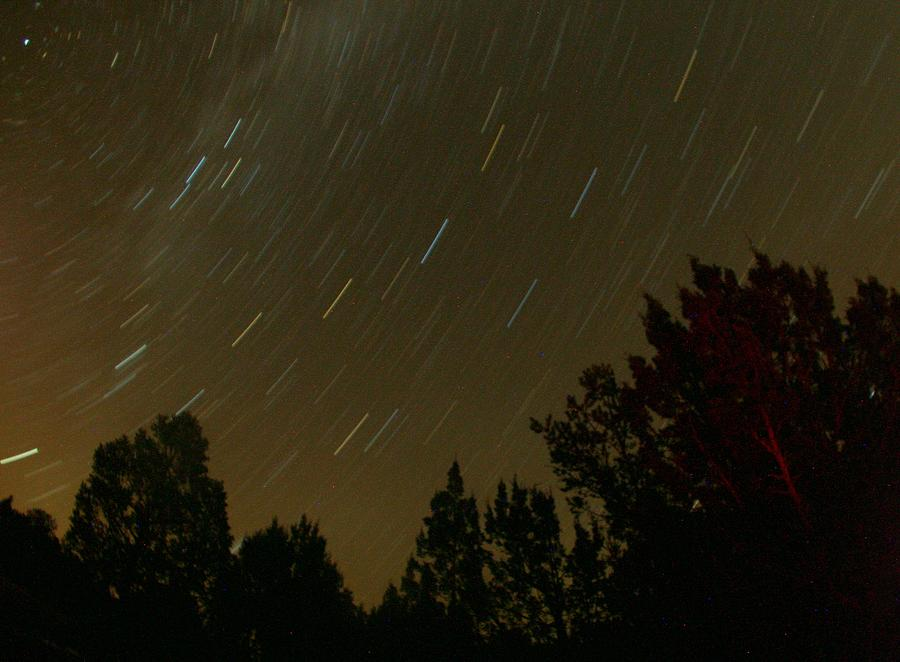 Astronomy Photograph - Star Tripping by David S Reynolds