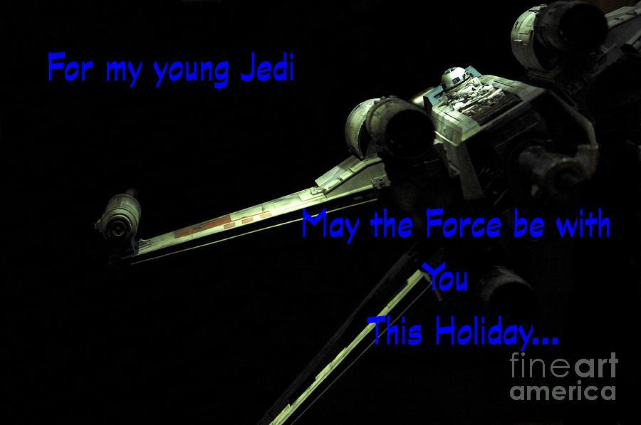 Star Wars Photograph - Star Wars Birthday Card 7 by Micah May