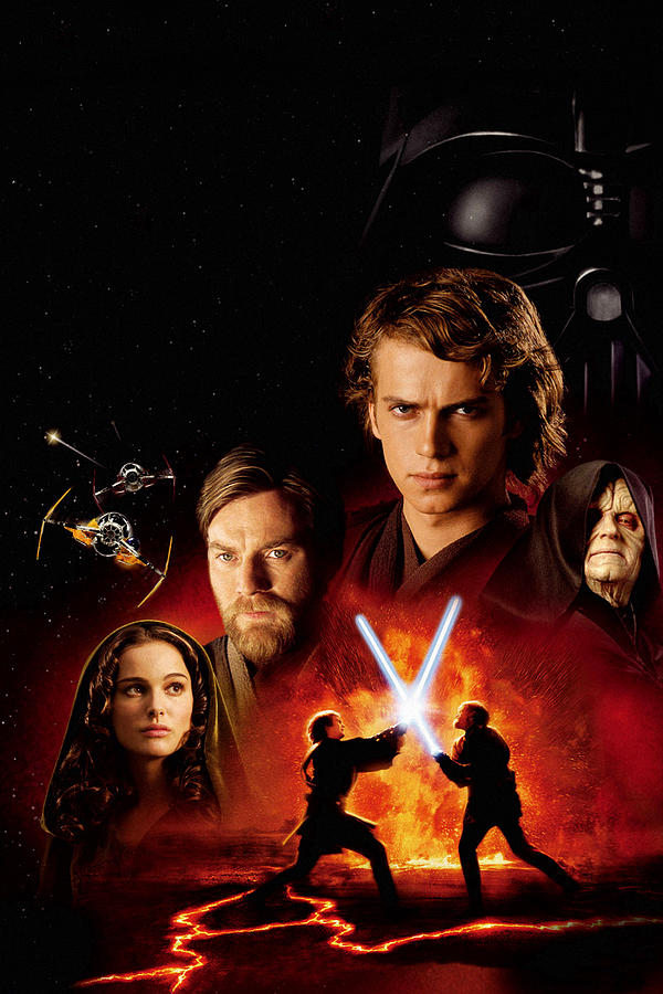 Star Wars Episode Iii Revenge Of The Sith 2005 Digital Art By Geek N Rock