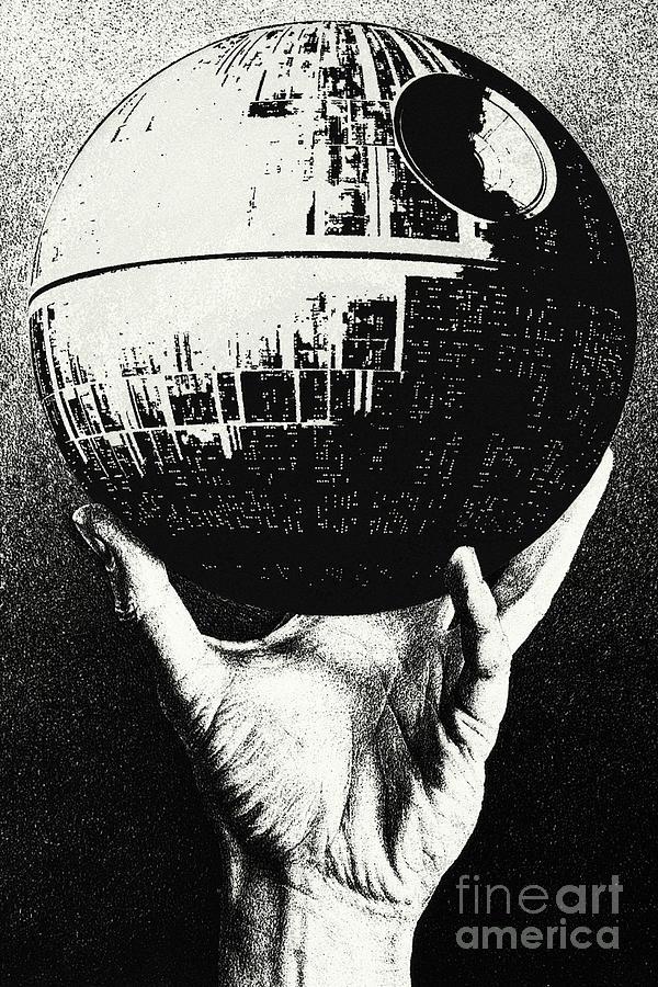 Death Star Digital Art