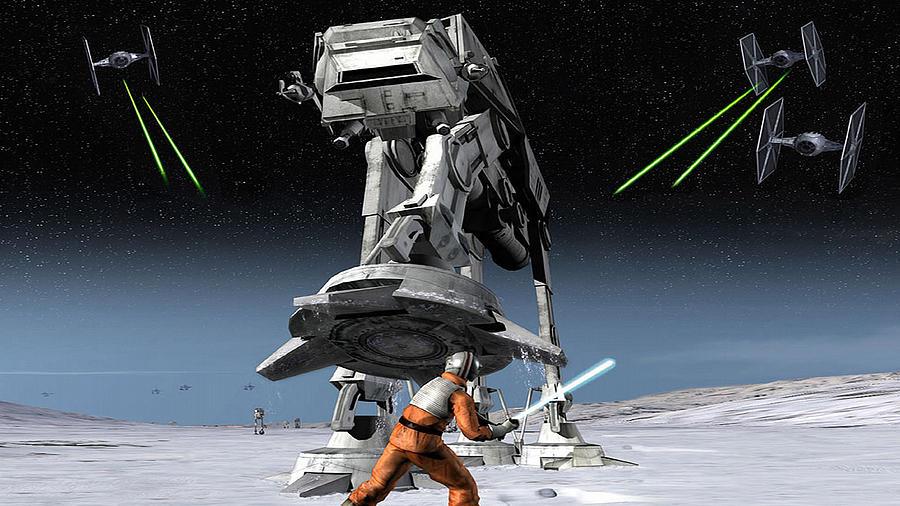 Star Wars Rogue Squadron III - Rebel Strike-309 by Jovemini ART