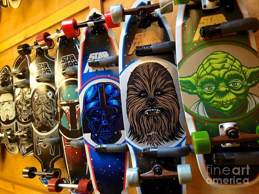 Star Wars Skateboards by Matty Archer