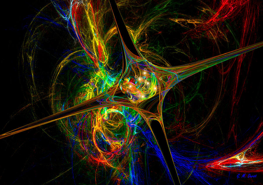 Digital Digital Art - Star Womb by Michael Durst