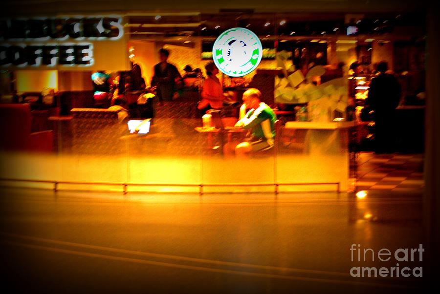 Starbucks Coffee Vibe Photograph
