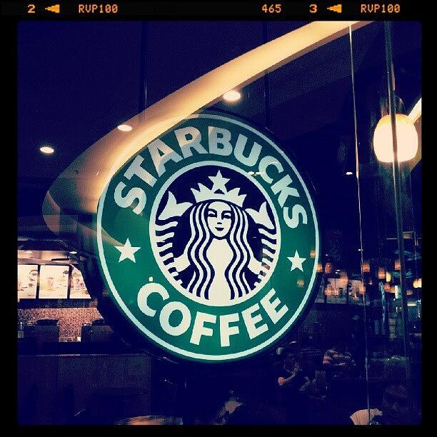 Shadows Photograph - #starbucks #coffee #yummy #tasty #green by Bryan Thien
