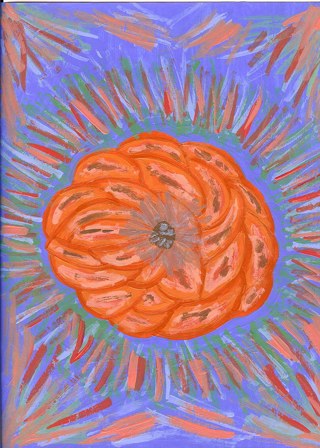 Flower Painting - Starburst by Laura Lillo