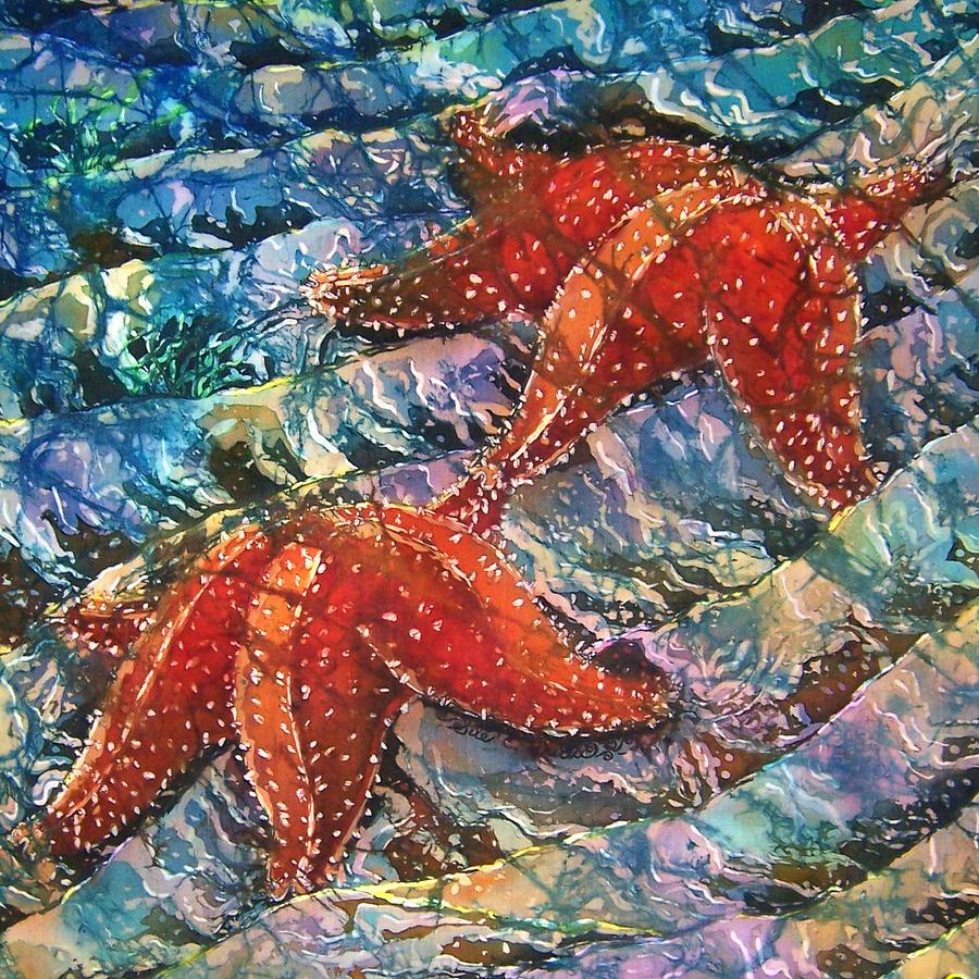 Starfish Painting - Starfish 1 by Sue Duda