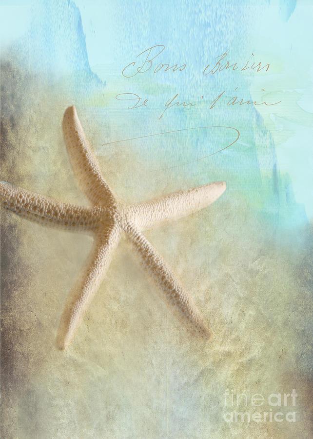 Sea Shell Photograph - Starfish by Betty LaRue