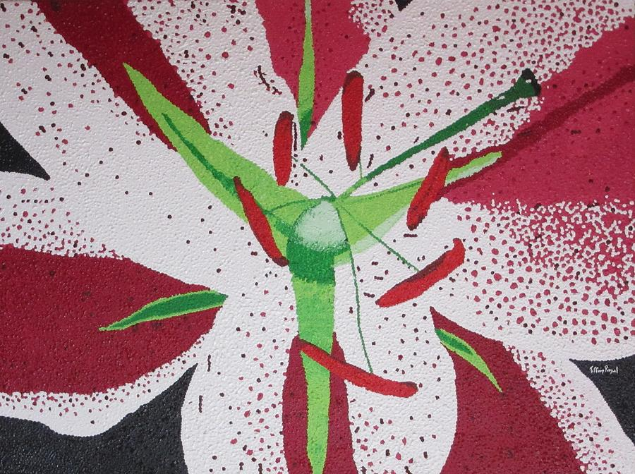 Flower Painting - Stargazer Lily by Tiffany Wright