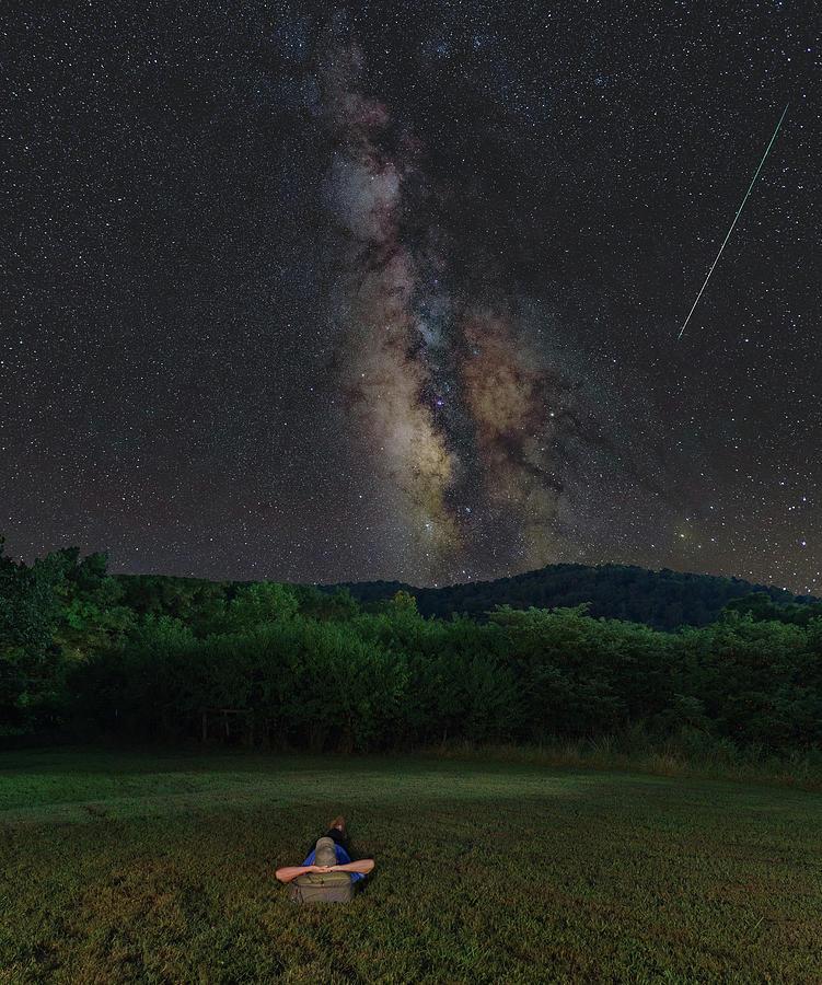Stargazing Under the Milky Way by Hal Mitzenmacher