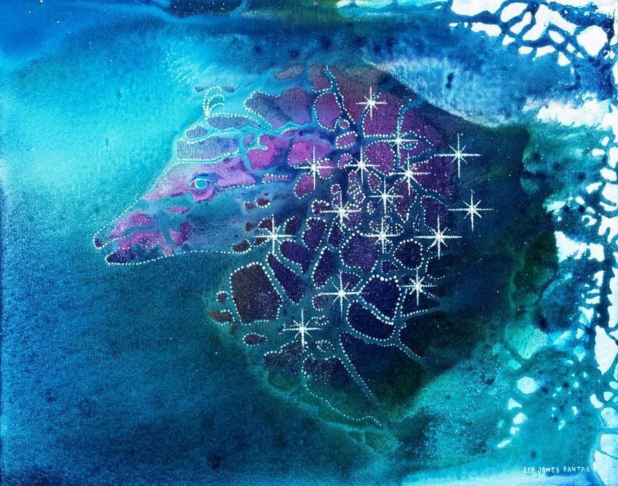 Spiritual Painting - Starhunter by Lee Pantas